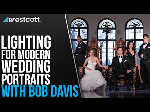 Lighting for Modern Wedding Editorial Portraits