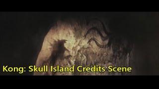Kong Skull Island Godzilla After Credits Scene