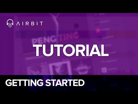 Airbit tutorial: Getting Started Selling Beats