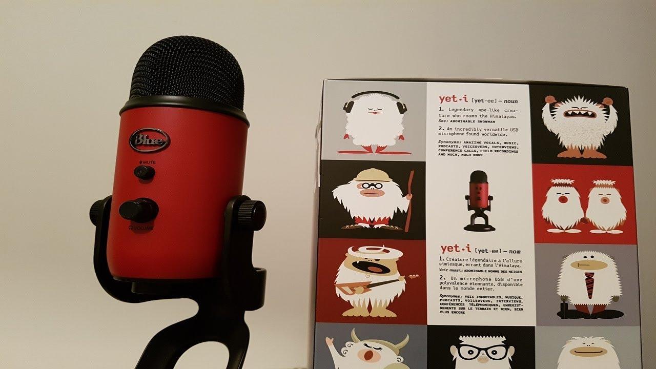 ASMR Whispered Blue Yeti Microphone Unboxing