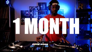 One Month of my DJ Scratch Journey - How far have I come?