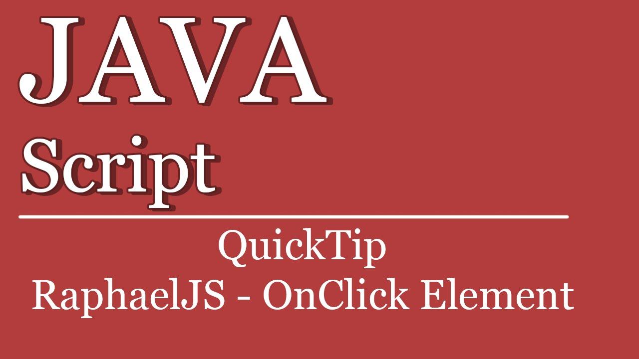 8 raphael js tutorials | web & graphic design | bashooka.