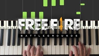 Free Fire Battlegrounds - Theme Song (Piano Tutorial Lesson)