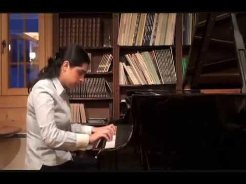 SOS Talents Fondation Michel Sogny présente Ana Kipiani piano