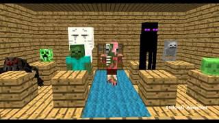 Minecraft canavar okulu #2:çizim