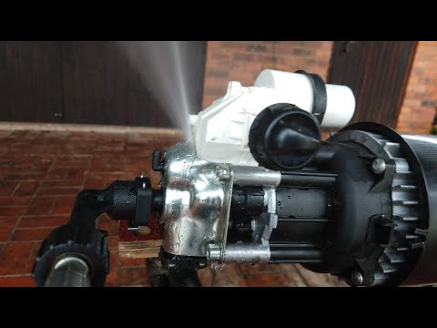 How to dismantle a Karcher K2 pressure washer