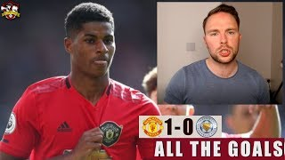 Were Man United lucky? Manchester United 1-0 Leicester City All The Goals LIVE
