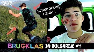 IK BEN VAN DE BERG AFGEVALLEN! BRUGKLAS IN BULGARIJE #4 | Vincent Visser