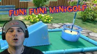 Two Funs? Really? - Fun! Fun! Minigolf (WiiWare)
