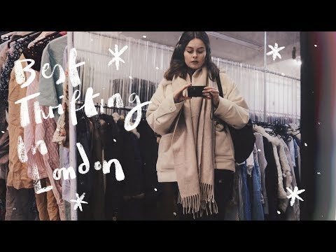 Best Charity Shops In London | Come Thrifting With Me | Lucy Moon