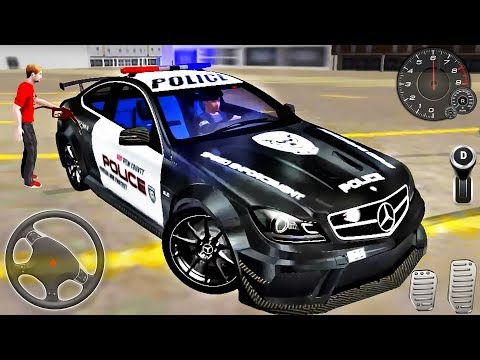 Police Car Mercedes S63 Driving - Hot Pursuit Simulator 3D - Android GamePlay