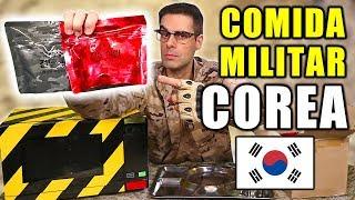 Probando Comida de Supervivencia Militar de Corea del Sur