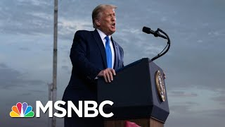Trump's Own FBI Director Contradicts His Election Attacks | The 11th Hour | MSNBC
