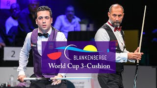 3-Cushion World Cup Blankenberge 2018 - Semih Sayginer vs David Zapata