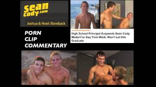 gay porn commentary sean cody model gets suspended from high school