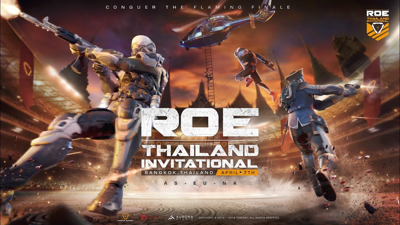 The battle for the first ever Ring of Elysium Thailand