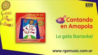 Cantando en Amapola - La gata (karaoke)