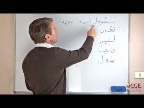 The Most Used Adjectives in Spoken Arabic, pt. 1 (Levantine Dialect)