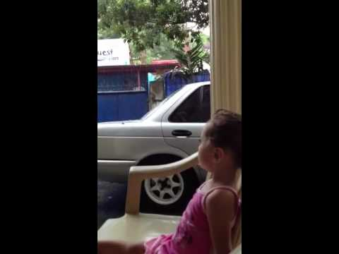 keila's first time watching rain in the philippines