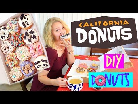 Готовим Американские Пончики|California Donuts Inspired