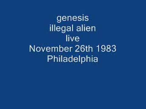 genesis- illegal alien (live)