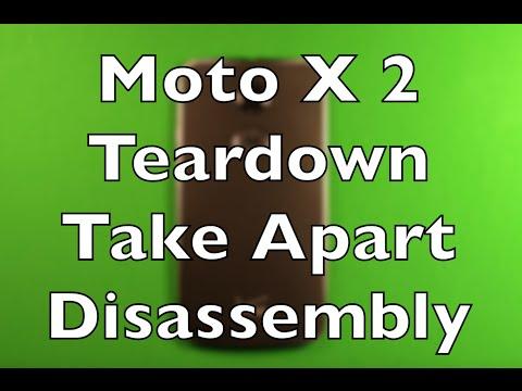 Motorola Moto X (2nd Gen) Teardown Take Apart Disassembly