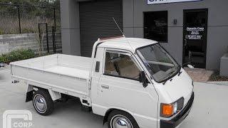 1985 Toyota LiteAce CM21 truck 3/4 ton 750kg payload.  4K-J 1300cc Amazing!