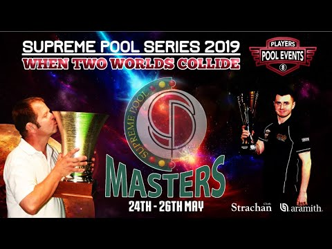 Phil Harrison vs Tom Cousins - The Supreme Pool Series - Supreme Masters - Winners Rd 1 - T16