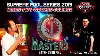 Phil Harrison vs Tom Cousins - The Supreme Pool Series - Supreme Masters - Winners Rd 1 - T16