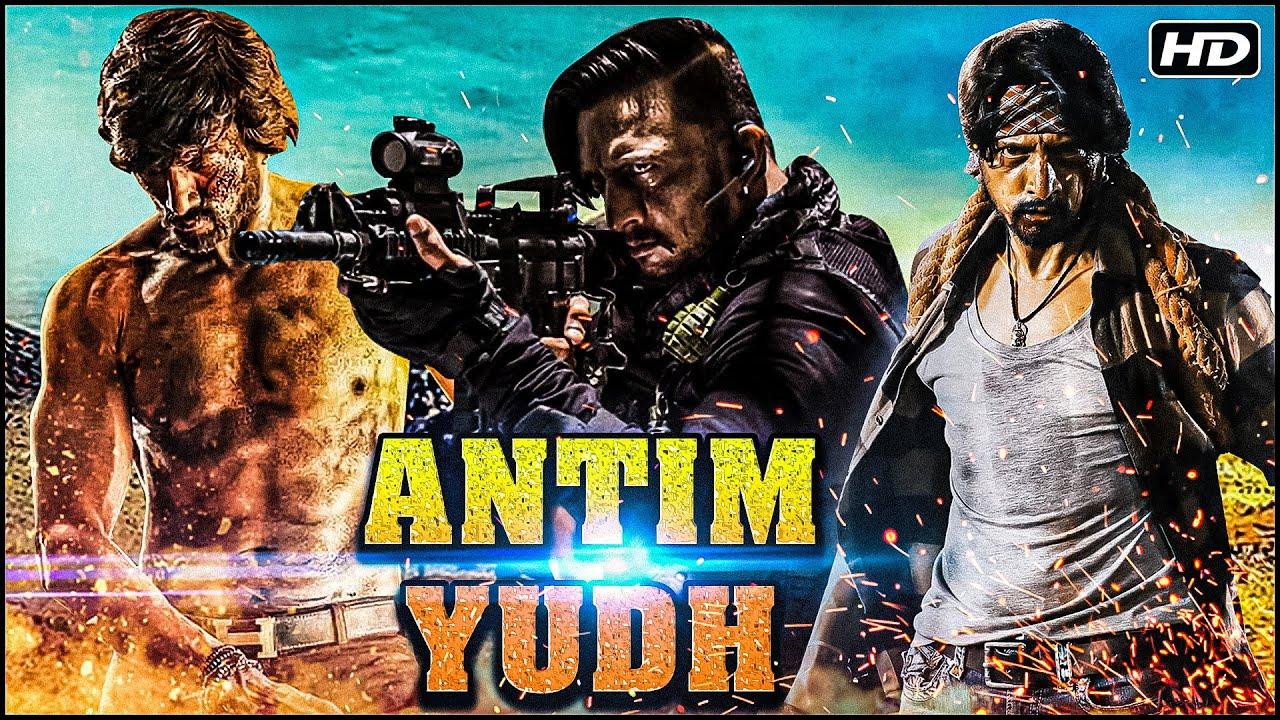 Download Antim Yudh Full Hindi Movie   Superstar Sudeep Kiccha Movies   South Dubbed Action Movies