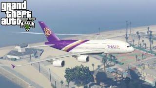 GTA 5 MODS | Airbus A380 | Un avion Gigantesco