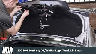 2005-2009 Mustang COVERKING Trunk Lid Liner - Review & Install