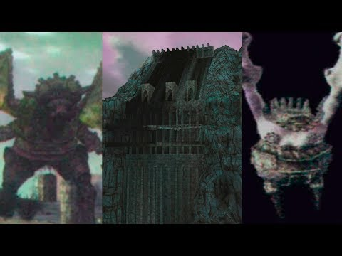 Shadow Of The Colossus Comparacao Das Telas De Game Over
