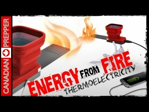Electricity From Fire: Thermoelectricity | Flamestower