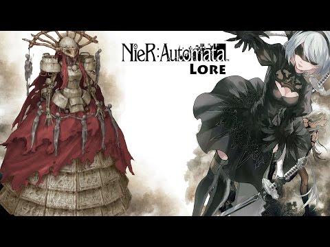 NieR:Automata Simone The Opera Singer Lore