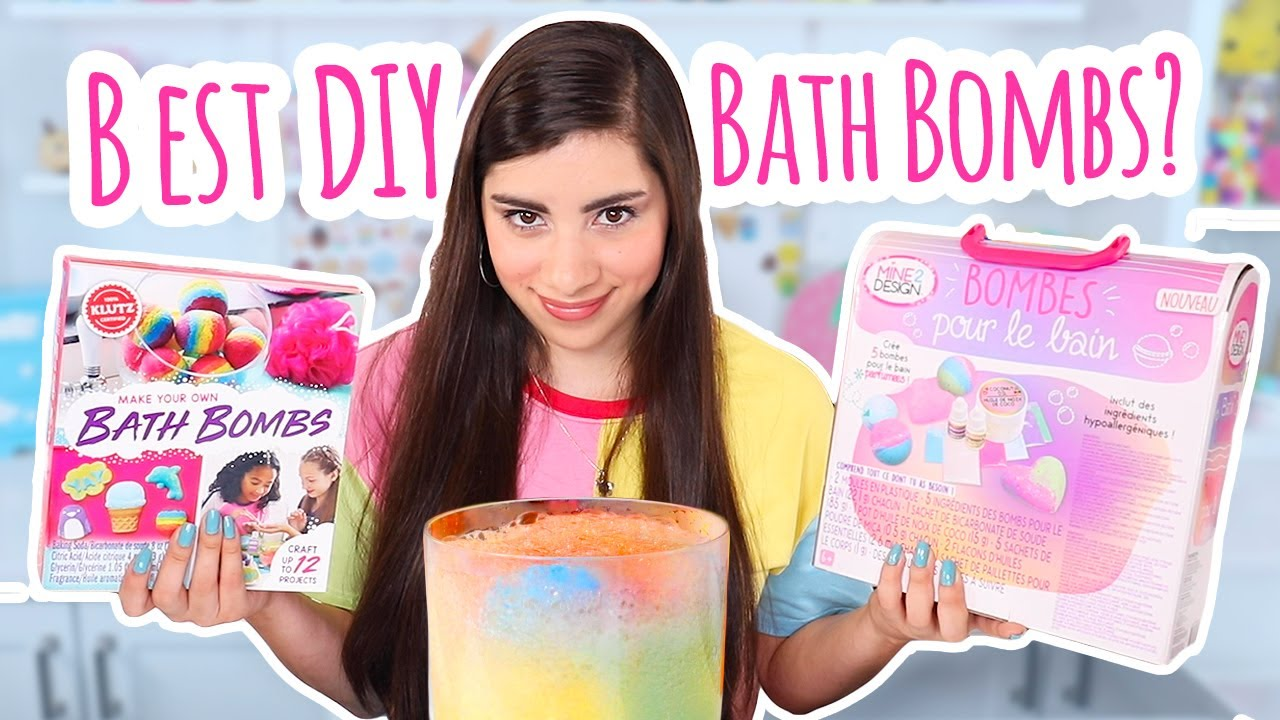 I Tested 2 DIY Bath Bomb Kits