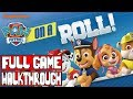 paw patrol on a roll gameplay walkthrough part 1 full game no commentary