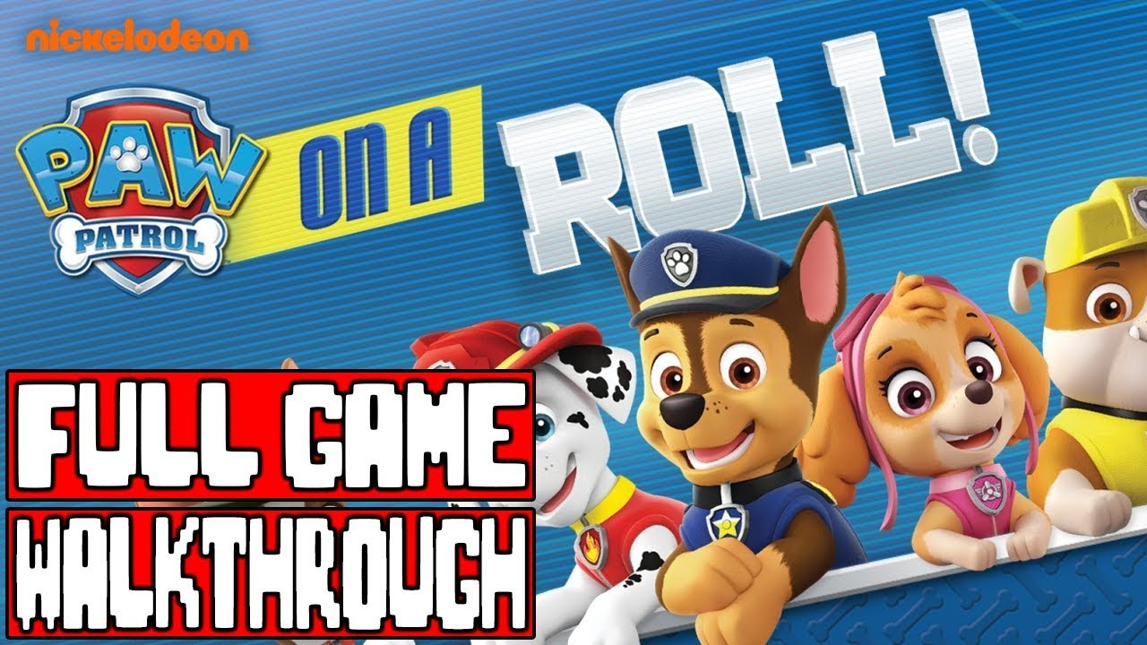 a21cb7d641f PAW PATROL ON A ROLL Gameplay Walkthrough Part 1 FULL GAME No Commentary