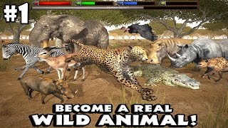 Ultimate Savanna Simulator By Gluten Free Games - Android/iOS - Gameplay Part 1