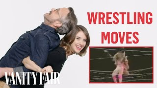 Alison Brie & GLOW Cast Classic Wrestling Moves | Vanity Fair