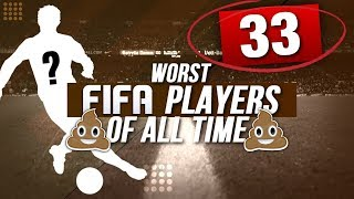 THE 10 WORST PLAYERS IN FIFA CAREER MODE HISTORY!!! | WORST POTENTIALS EVER!