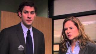 The Office - Michael Tells Jim and Pam about Pam's Mom