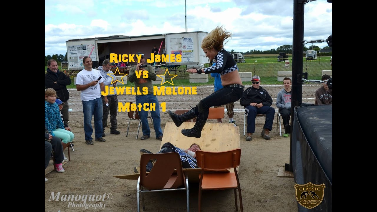 Jewells Malone vs Ricky James - Sep. 13, 2014 Rodney Fair