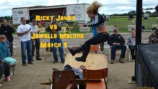 Jewells Malone vs Ricky James - Sep. 13, 2014 Rodney Fair