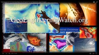 Geoengineered Catastrophes (CA Firestorms & Christmas Cool Down)