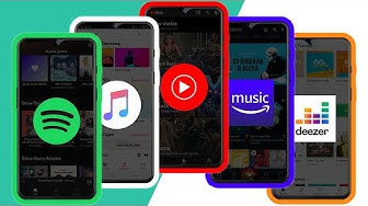 Spotify vs Deezer vs YouTube Music vs Apple Music vs Amazon Music