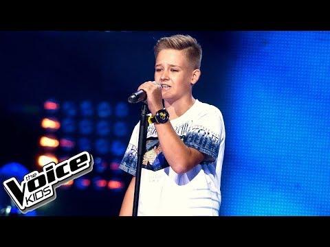 Dominik Ciach - 'Kołysanka dla nieznajomej' - Przesłuchania w ciemno - The Voice Kids 2 Poland