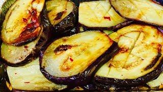 Быстрые пикантные баклажаны: лучшая закуска на все случаи жизни🌶Самые вкуснык в мире Баклажаны.