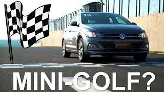 Teste Volkswagen Polo na pista! Será mesmo o mini -Golf?