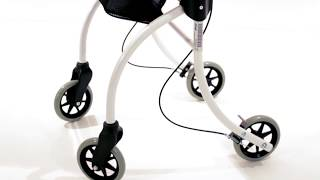Produktvideo zu Indoor-Rollator Drive Medical Roomba